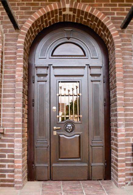 элитная парадная металлическая дверь