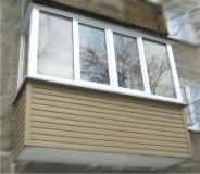 остекление балконов казань