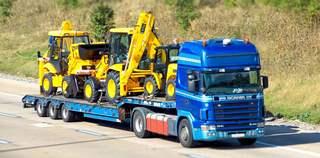транспортировка трактора
