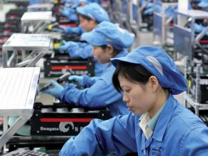 Китайское производство