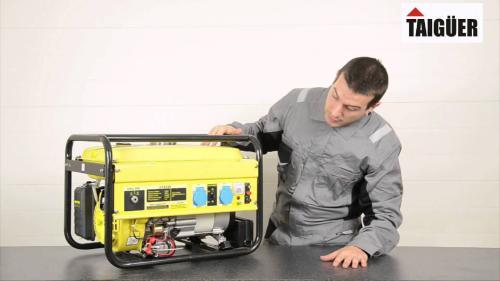 выбрать электрогенератор